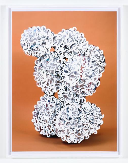 , 'Balloon collage (Palsy version #1),' 2013, Nina Johnson