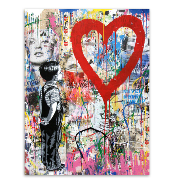 Mr. Brainwash, 'With all My Love', 2018, Station 16 Gallery