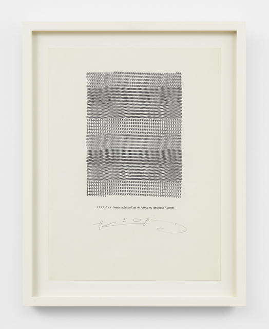 , 'Les danses spirituelles,' 1992, Simon Lee Gallery