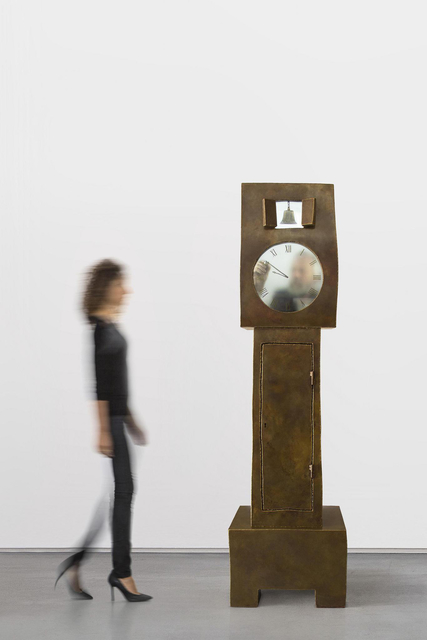 , 'Grandfather Clock Brass,' 2014, Carpenters Workshop Gallery
