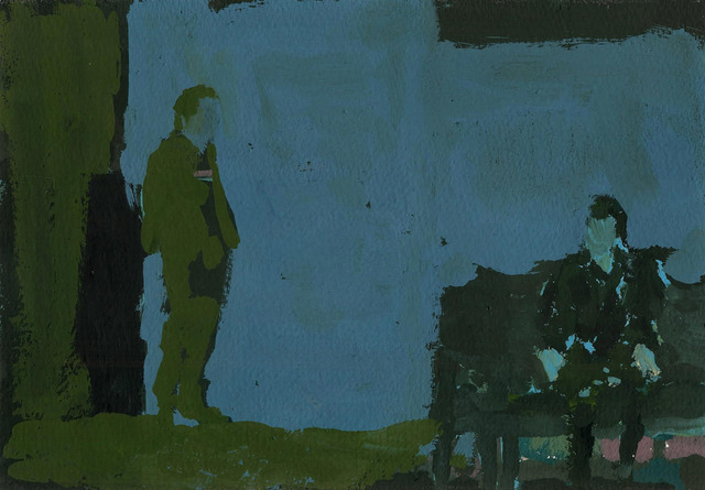 , 'John Gabriel Borkman #3 (Ibsen serie),' 2014, Johannes Vogt Gallery