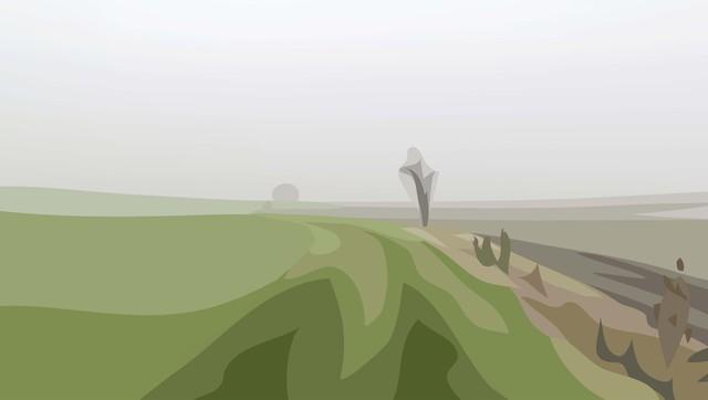 Julian Opie, 'Winter 16.', 2012, Alan Cristea Gallery
