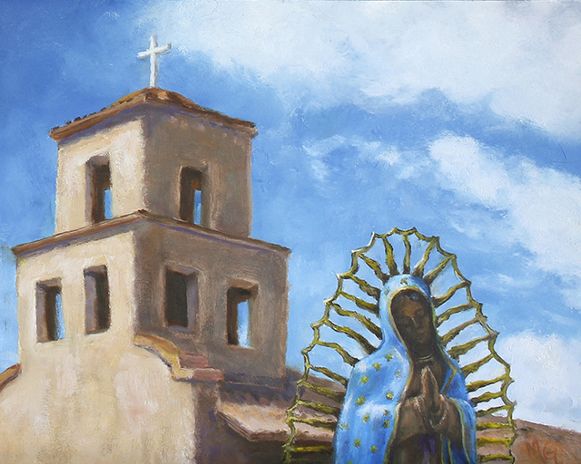 , 'Our Lady,' 2018, Joshua Tree Art Gallery