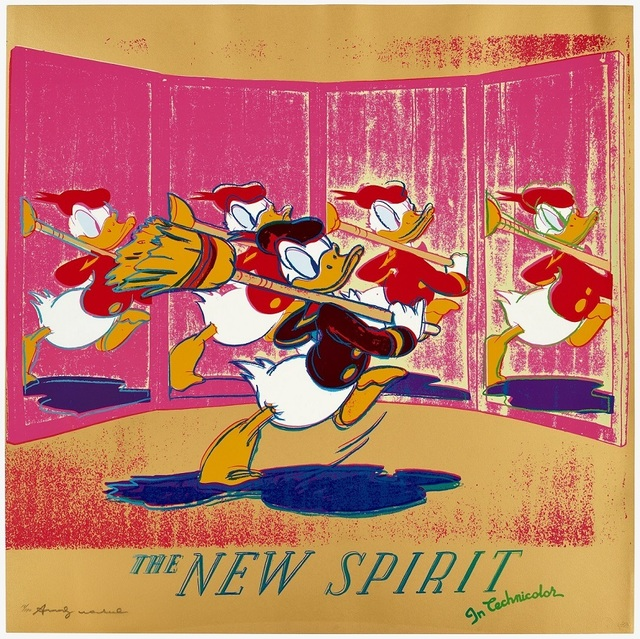 Andy Warhol, 'New Spirit ', 1985, michael lisi / contemporary art