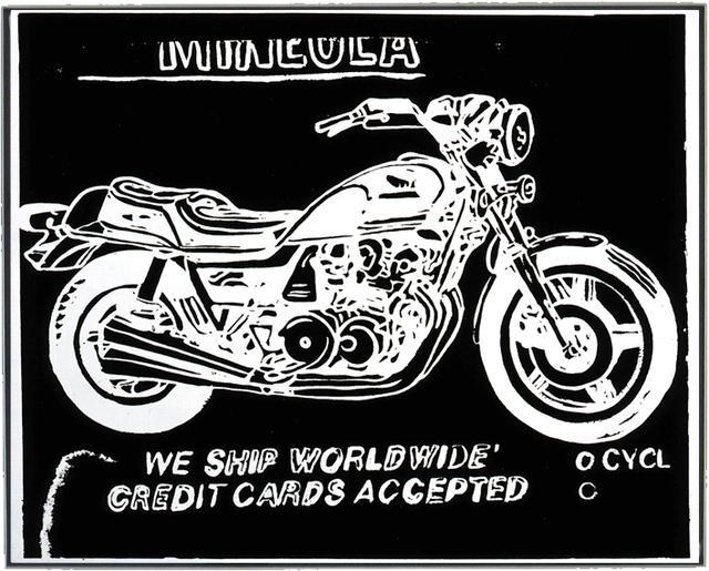 , 'Mineola Motorcycle,' 1985-1986, Joseph K. Levene Fine Art, Ltd.