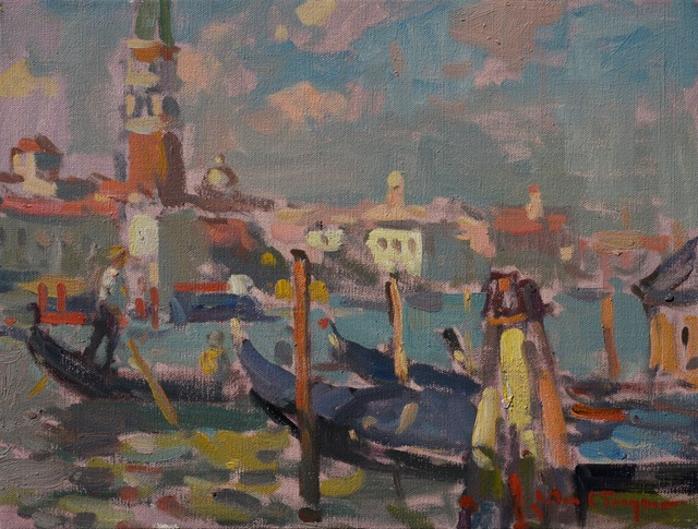 , 'Touring the Grand Canal, Venice,' , J. Cacciola Gallery