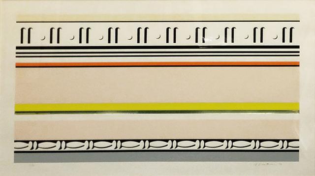 Roy Lichtenstein, 'ENTABLATURE VIII', 1976, Marcel Katz Art