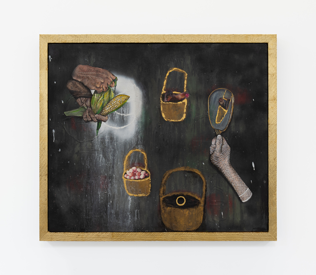 Trulee Hall, 'Showing the Rooster (Full/Empty Baskets)', 2018, Maccarone
