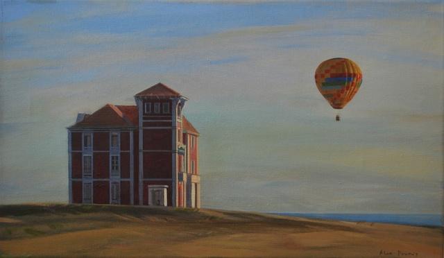 , 'Casa i globus,' 2019, Anquins Galeria