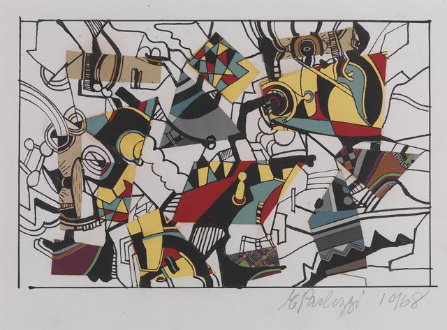 , 'Untitled - Collage II,' 1968, Pangolin