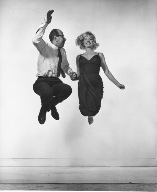 , 'Marilyn Monroe and Philippe Halsman,' 1959, Jeu de Paume