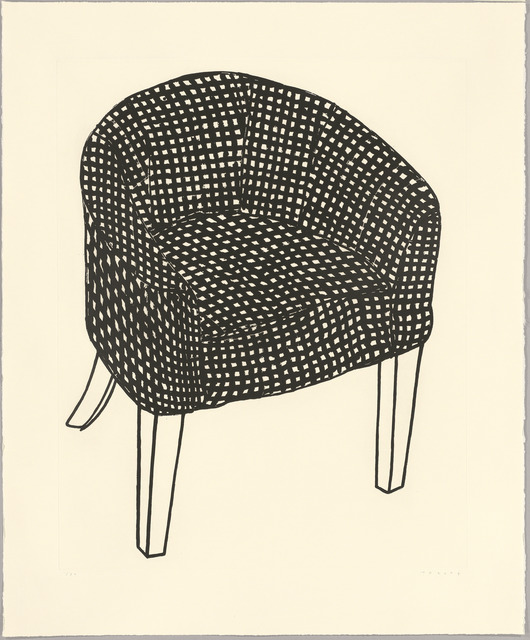 , 'Fat Check Chair,' 2006, Sims Reed Gallery