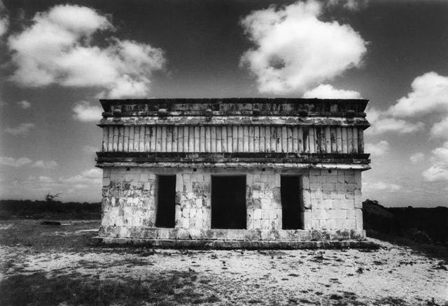 , 'Las Tortugas, after Catherwood [Uxmal] (House of the Turtles, a la manera de Catherwood),' 1985, Herlitzka + Faria