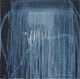 Pat Steir, 'Waterfall Blue,' 1997, Phillips: Evening and Day Editions (October 2016)