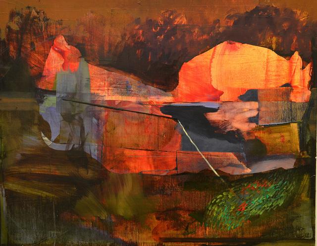 , 'Riverboat,' 2013, Accesso Galleria