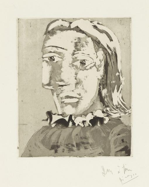 Pablo Picasso, 'Portrait de Femme au Col en ruché: Marie-Thérèse', 1939, Christie's