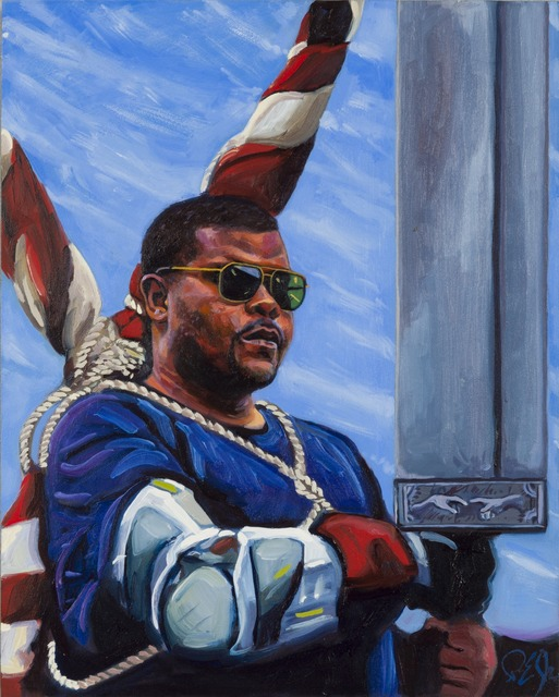 , 'St. Peter and the Terrible Sword,' 2014, Childs Gallery