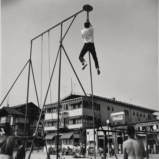, 'Shinning, Muscle Beach, Santa Monica, CA,' 1954, Bruce Silverstein Gallery