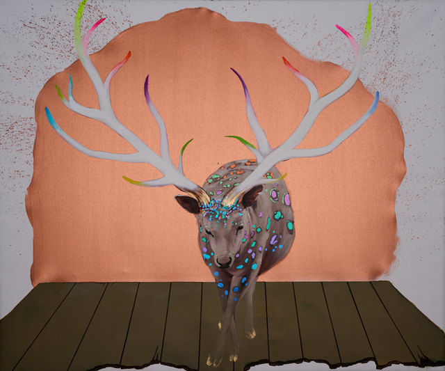 , 'Deer of Nine Colors 6,' 2016, Chambers Fine Art