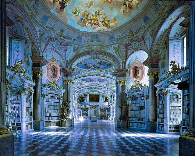 , 'Admont Library, Austria | World Libraries,' 1994, CHROMA GALLERY