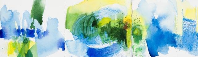 Sandra Benhaim, 'Blue Trio', 2014, Cerulean Arts