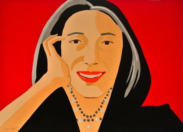 Alex Katz, 'Red Ada', 2011, Soho Contemporary Art