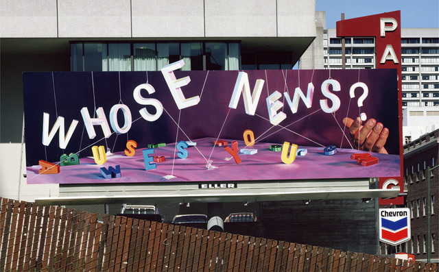 , 'Whose News,' 1980, Wirtz Art