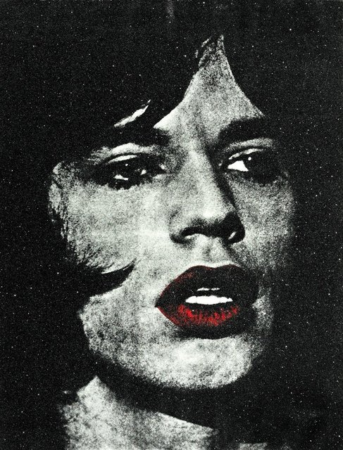 , 'Mick with Red Lips,' 2011, HG Contemporary