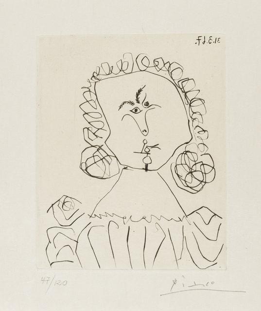 Pablo Picasso, 'Doble Ensayo Sobre Picasso (Cramer 142)', 1967, Forum Auctions