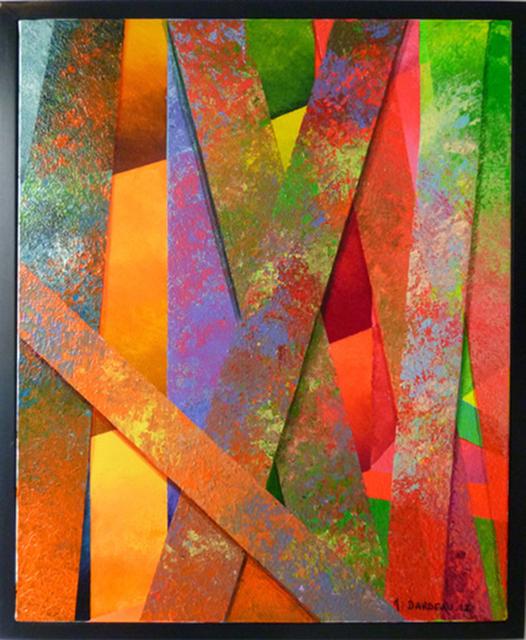 Monique DARDEAU, 'Intersection', 2016, Galerie Art' et Miss