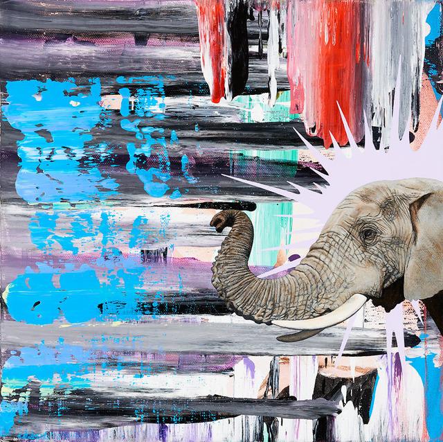 , 'African Elephant,,' 2015, Artadia