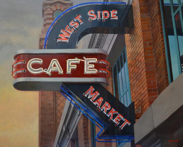 , 'West Side Market,' 2014, The Bonfoey Gallery