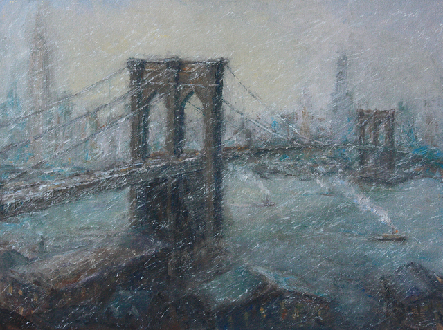 , 'The Great Bridge in Winter,' 2016, Rehs Contemporary Galleries