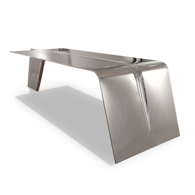 , 'Airplane wing table,' 2016, Galerie Loft