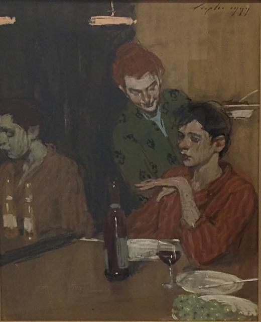 , 'Sidewalk Cafe ,' 1999, Off The Wall Gallery