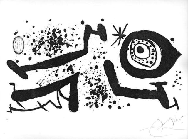 Joan Miró, 'Picasso I Els Reventos', 1973, Wallector