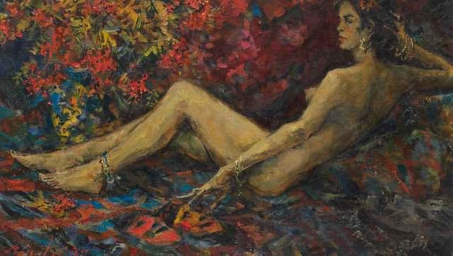 , 'Small Odalisque,' 1995, Catto Gallery