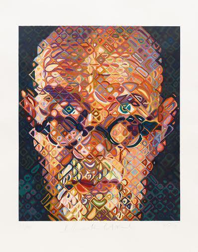 Chuck Close, 'Self Portrait 2015', 2015, Vertu Fine Art