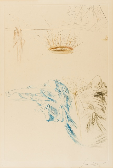 Salvador Dalí, 'Le Testament de Tristan (Field 70-10U; M&L 426b)', 1970, Forum Auctions