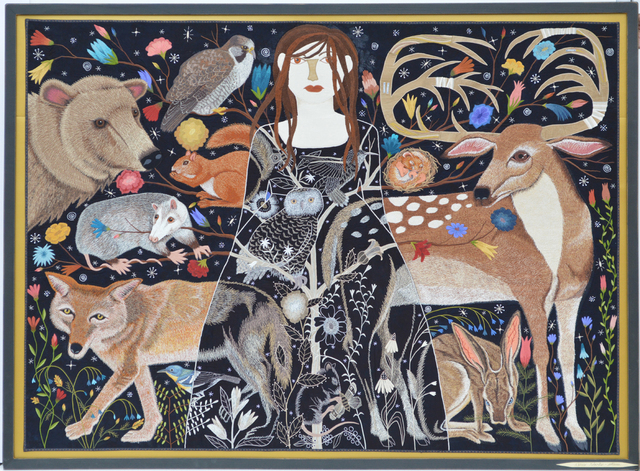 , 'Untitled (Woman With Animals),' 2013, Antieau Gallery