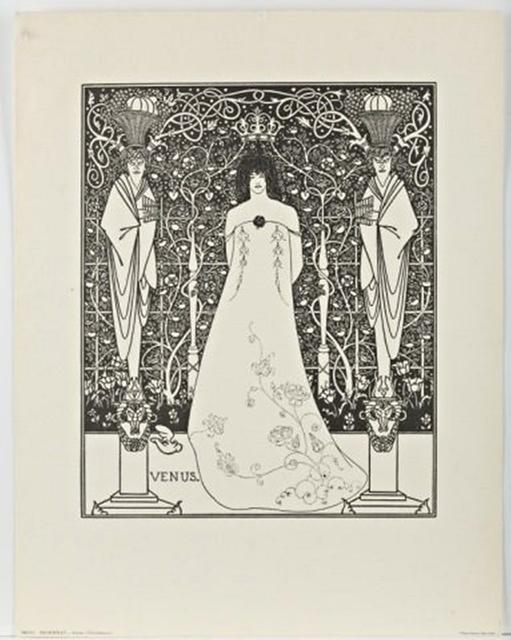 , 'VENUS (Frontispiece For 'Venus And Tannhauser'),' ca. 1895, Alpha 137 Gallery