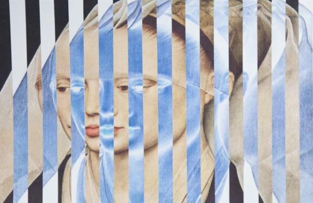 , 'VdW Portrait of a Lady Pos/Neg,' 2014, Carter Burden Gallery
