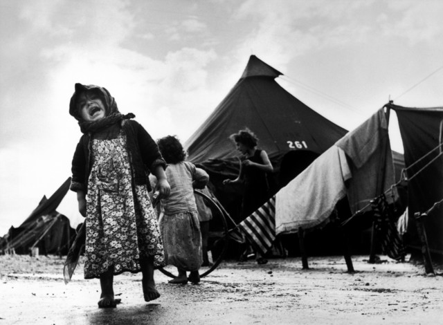 , 'Child at the Sha'arHa'aliya transit camp for new immigrants. Haifa, Israel.,' 1950, Magnum Photos
