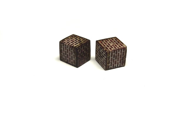 , 'Brickwork Earrings (studs),' 2017, Facèré Jewelry Art Gallery
