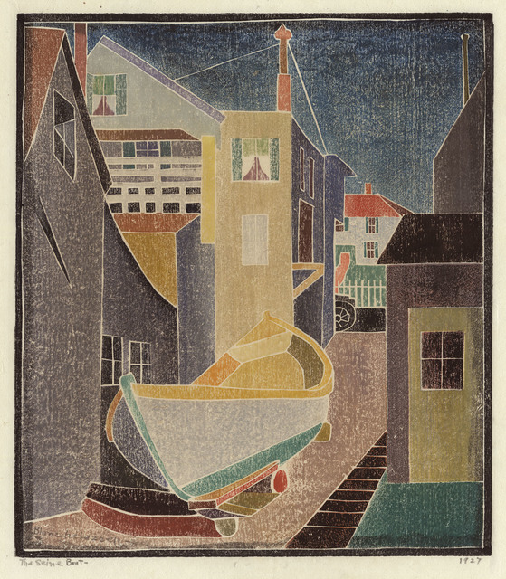 , 'The Seine Boat.,' 1927, The Old Print Shop, Inc.