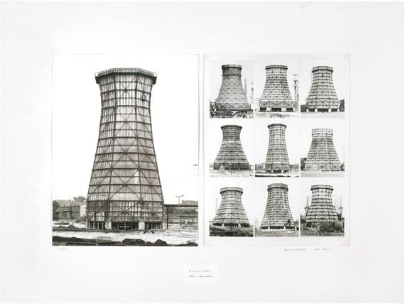 , 'Kuhlturme/Stahl-Welleternit (Water Cooling Towers),' 1973, Susan Spiritus Gallery