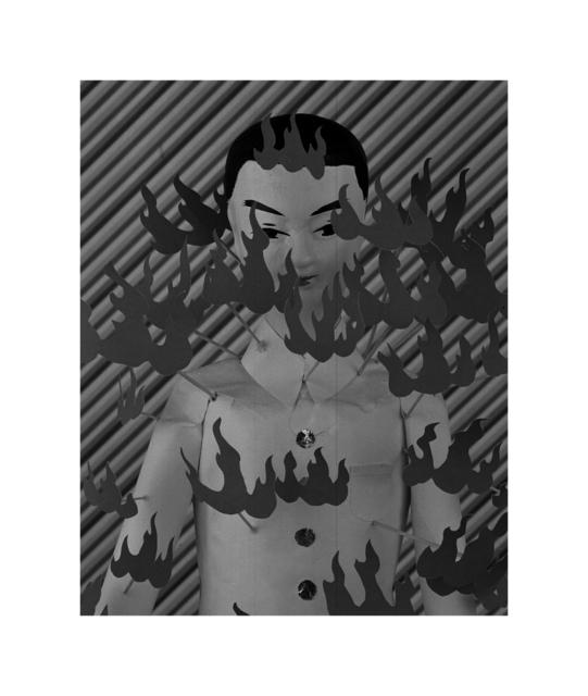, 'Hua-shan-qiang—Spirit-body,' 2013, TKG+