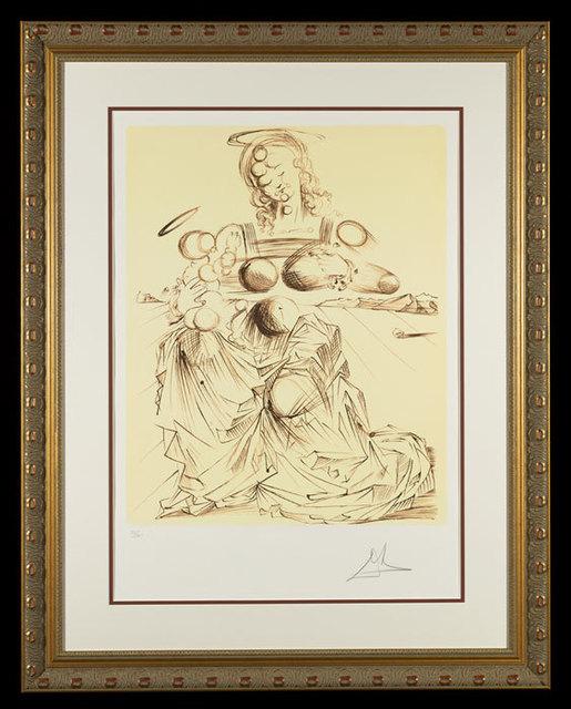 ", '""Disintegrating Mother and Child""    Hand Signed Salvador Dali Lithograph,' 1941-1957, Elena Bulatova Fine Art"