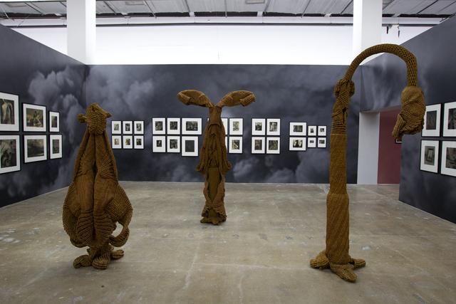 Mrinalini Mukherjee, 'Arboreal Enactment, Night Bloom 2, and Forest Flame IV', 1991?, 1992, 1996, 2009, Gwangju Biennale