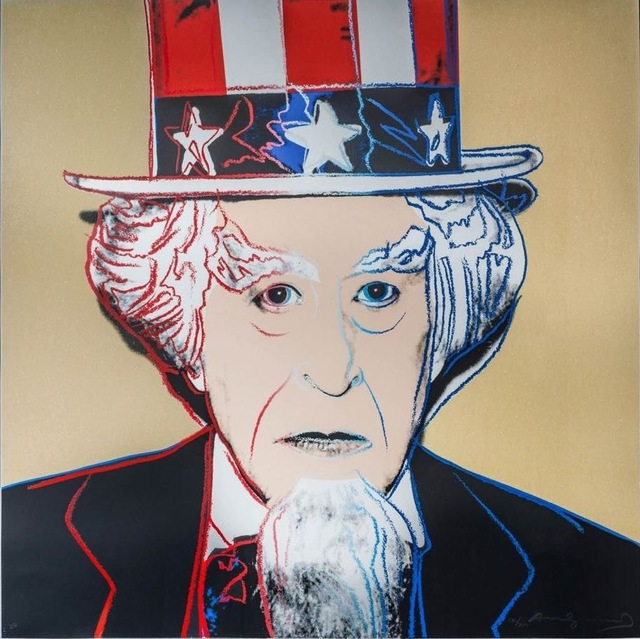 , 'Uncle Sam, from Myths FS II.259,' 1981, Gregg Shienbaum Fine Art
